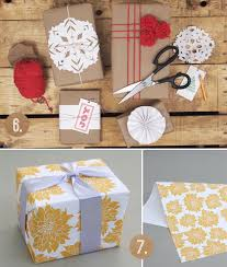 Handmade Gift Wrapping Paper - bubby and bean living creatively wrap it up the prettiest