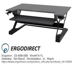 Convert Desk To Standing Workstation 44 Best Sit Stand Workstations Images On Pinterest Sit Stand