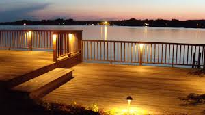 led patio lights low voltage led deck inspirations with post lights pictures