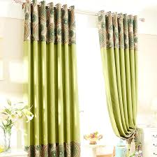Country Living Curtains Country Living Curtains Peacock Linen Cotton Blend