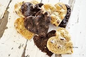 heart shaped cookies chocolate sandwich heart cookies the idea room