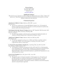 objectives for nursing resume pediatric nurse resume msbiodiesel us registered nurse resume sample inspiration decoration nurse resume