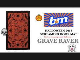 halloween doormat b u0026m halloween 2016 screaming door mat roarsome reviews s2 s3