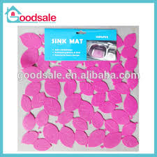 clear plastic sink mats fashion square leaf pattern clean plastic kitchen sink mat buy