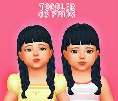 sims 4 maxis match cc hair sims 4 maxis match hair tumblr