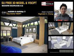 sketchup texture free sketchup model modern bedroom 32 u0026 vray