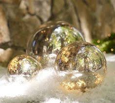mercury glass balls are the accessory really balls of