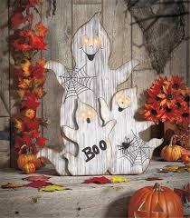 resultado de imagen para decoracion en madera de halloween