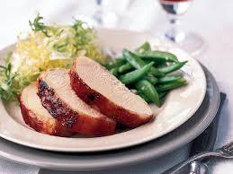Thanksgiving Pork Loin Barbecued Pork Loin Recipe Christian Delouvrier Food U0026 Wine