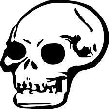 halloween svg free file skull 2 svg wikimedia commons