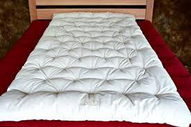 travel mattress images Portable wool travel bed without cover lightweight compact jpg