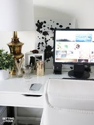 Desk Organization 5 Easy Organization Ideas To Create The Chicest Desk