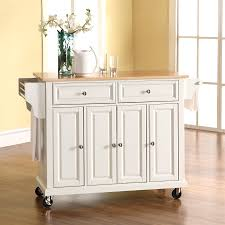 lowes kitchen islands shop crosley furniture white craftsman kitchen island at lowes