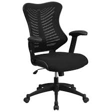 Ergonomic Mesh Office Chair Design Ideas Ergonomic Home High Back Black Designer Mesh Executive Swivel