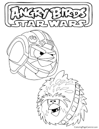 angry birds star wars 02 coloring page coloring page central