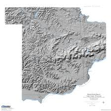 County Map Wisconsin by Wisconsin Geological U0026 Natural History Survey Shaded Relief Map