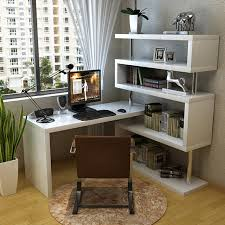 Bedroom Corner Desk Piano Paint Multifunction Rotary Bedroom Corner Desk Combination