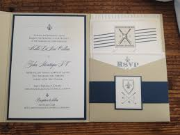 dani u0027s details navy blush and a little golf wedding invitation