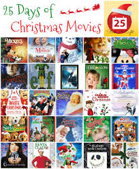 25 days of christmas movies with free printable list startsateight
