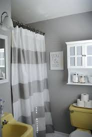 grey and yellow bathroom ideas grey white yellow bathroom grey white striped shower curtain small
