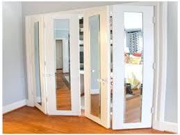 Mirrored Bifold Doors For Closets Closet Mirror Closet Doors Mirror Door Sliding Doors Interior