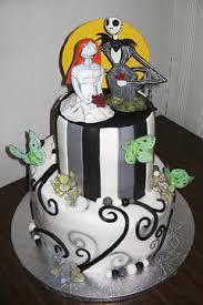 nightmare before christmas cake designs