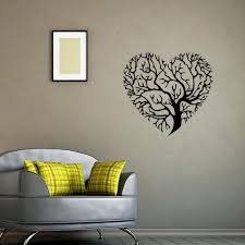 Wall Decor Stickers by Shaped Tree Wall Mural Decor Sticker Living Room Bedroom
