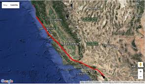 san francisco fault map a guide to earthquake tourism along the san andreas fault kcet