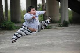 Chinese Kid Meme - funny fat ninja kid jumping image