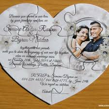 wedding invitations south africa puzzle invitations cape town south africa