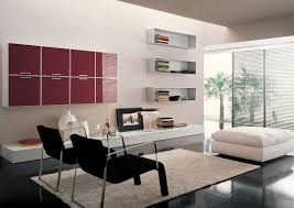 bold and cheerful living room decorating interior having l shape
