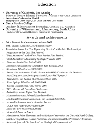 Resume For Theatre Bunch Ideas Of Samples Of Achievements On Resumes For Resume