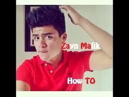 2014 zayn malik hairstyle tutorial youtube