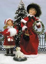 311 best carolers figurines images on figurines