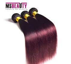 Purple Remy Hair Extensions by Msbeauty Hair Weave Brazilian Hair Remy Hair Extensions Grade 7aa