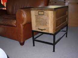 repurpose metal file cabinet own except ours is metal it s a filing cart top opening in hunter