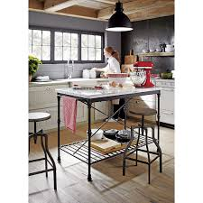 shop french kitchen island prized for its natural grey white