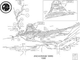 Anchorage Map Route Map Anchorage