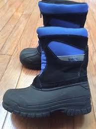 s totes boots size 11 totes all weather insulated boots boys winter size 11 blue