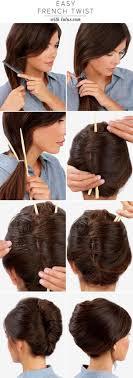 Frisuren Lange Haare Banane by Die Besten 25 Tuto Chignon Banane Ideen Auf