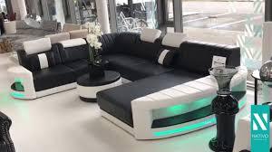 canapé design nativo mobilier canapé design atlantis avec éclairage led