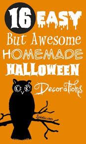 how to make homemade halloween decorations frozen halloween