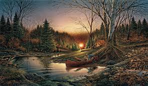 terry redlin morning solitude world wide art