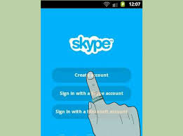 how to get on android how to get skype on android 5 steps with pictures wikihow