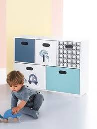 meuble rangement chambre bébé etagère de rangement 5 bacs p nid multicolore vertbaudet