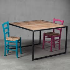 industrial design kitchen table