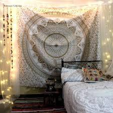 White Hippie Bedroom Blog