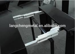 table extension slide mechanism aluminium alloy section folding table slide table extension