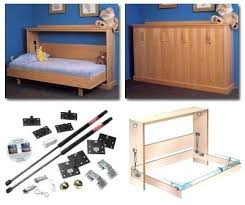 Diy Folding Bed Side Folding Bed Horizontal Melamine Wall Single Buy Uk