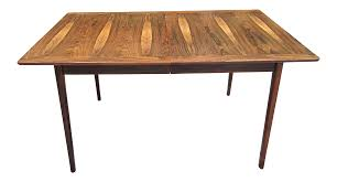 westnofa norway mid century brazilian rosewood dining table chairish